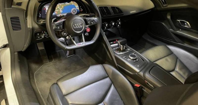 Audi R8 5.2 V10 FSI 540 QUATTRO S TRONIC Blanc occasion à GUERANDE - photo n°7