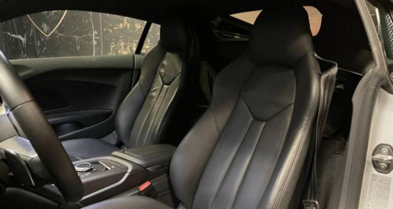 Audi R8 5.2 V10 FSI 540 QUATTRO S TRONIC Blanc occasion à GUERANDE - photo n°6