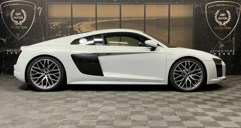 Audi R8 5.2 V10 FSI 540 QUATTRO S TRONIC Blanc occasion à GUERANDE - photo n°2