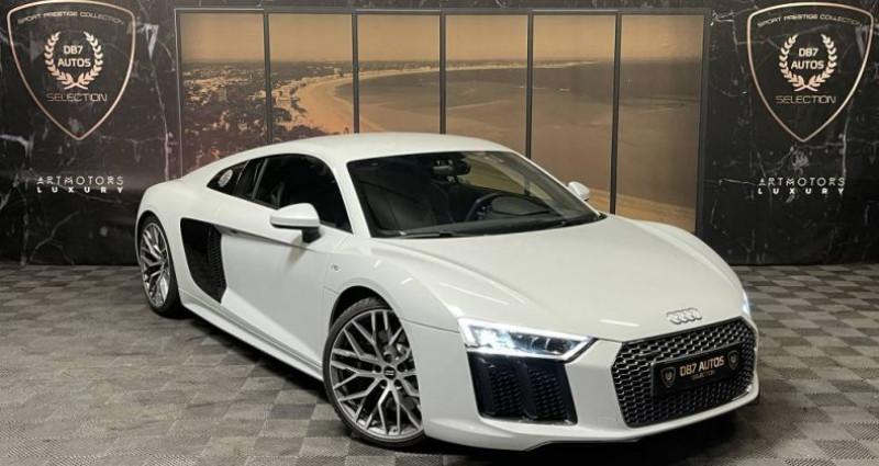 Audi R8 5.2 V10 FSI 540 QUATTRO S TRONIC Blanc occasion à GUERANDE