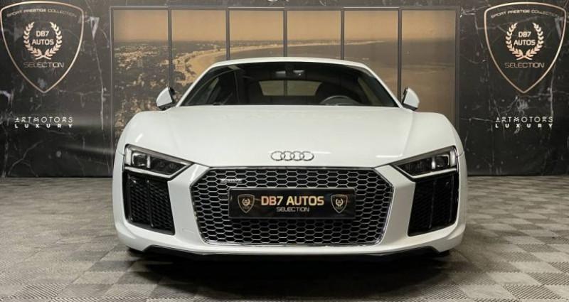 Audi R8 5.2 V10 FSI 540 QUATTRO S TRONIC Blanc occasion à GUERANDE - photo n°5