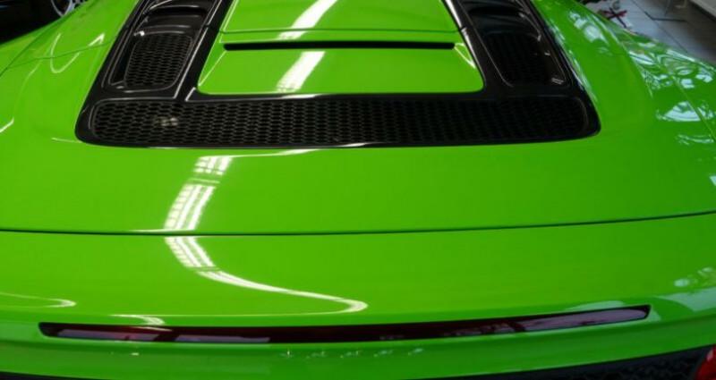 Audi R8 II 5.2 V10 FSI 540ch quattro S tronic 7 Vert occasion à Boulogne-Billancourt - photo n°5