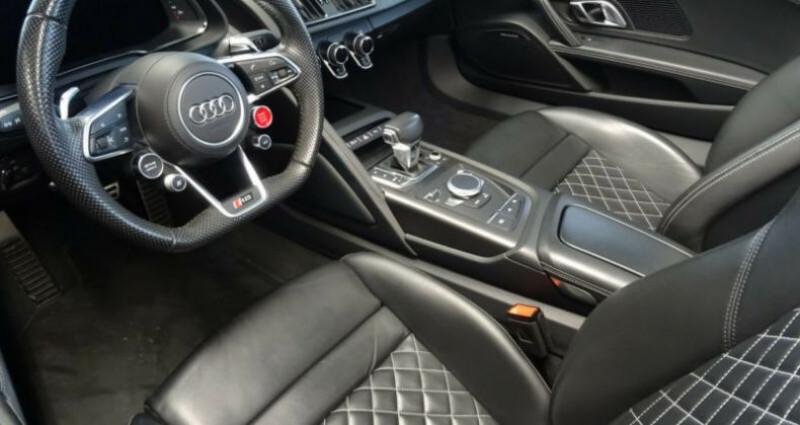 Audi R8 II 5.2 V10 FSI 540ch quattro S tronic 7 Vert occasion à Boulogne-Billancourt - photo n°6
