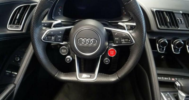Audi R8 II 5.2 V10 FSI 540ch quattro S tronic 7 Vert occasion à Boulogne-Billancourt - photo n°7