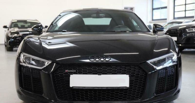 Audi R8 II 5.2 V10 FSI 540ch quattro S tronic 7 Noir occasion à Boulogne-Billancourt - photo n°4
