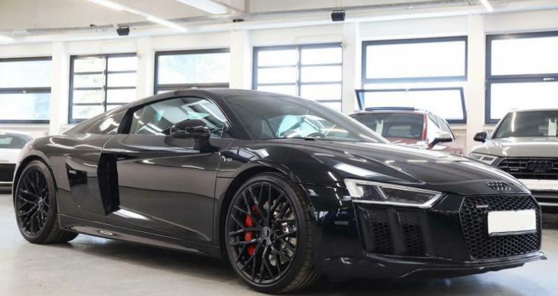 Audi R8 II 5.2 V10 FSI 540ch quattro S tronic 7 Noir occasion à Boulogne-Billancourt - photo n°2