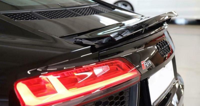 Audi R8 II 5.2 V10 FSI 540ch quattro S tronic 7 Noir occasion à Boulogne-Billancourt - photo n°6