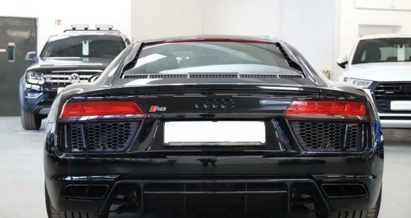 Audi R8 II 5.2 V10 FSI 540ch quattro S tronic 7 Noir occasion à Boulogne-Billancourt - photo n°7