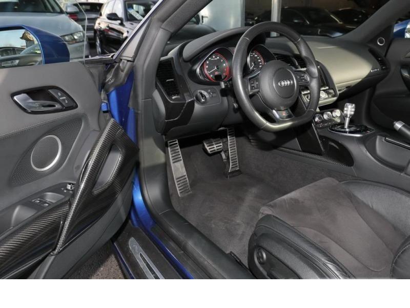 Audi R8 V10 5.2 FSI 525 ch S Tronic Bleu occasion à BEAUPUY - photo n°2