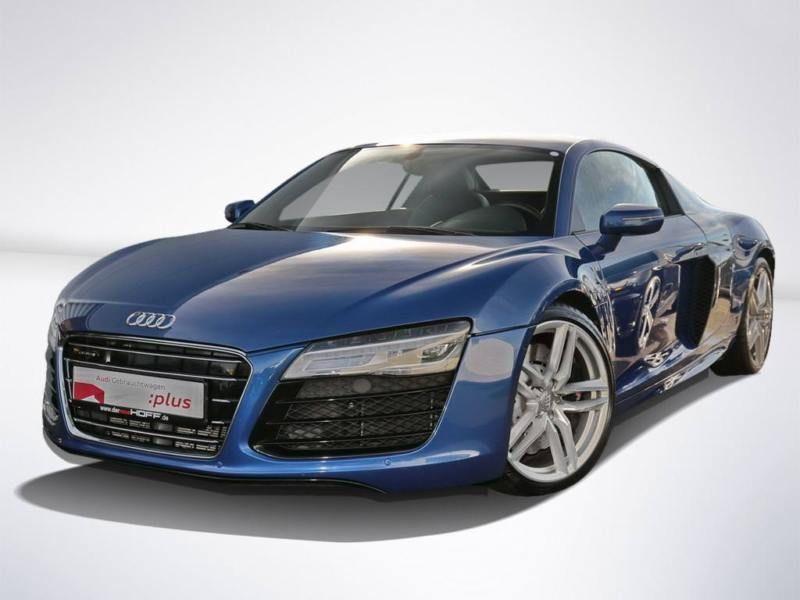 Audi R8 V10 5.2 FSI 525 ch S Tronic Bleu occasion à BEAUPUY