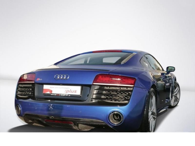 Audi R8 V10 5.2 FSI 525 ch S Tronic Bleu occasion à BEAUPUY - photo n°3