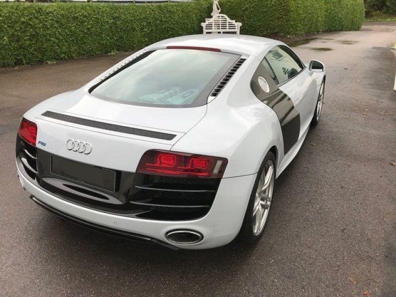 Audi R8 V10 5.2 FSI 525 ch Blanc occasion à BEAUPUY - photo n°3