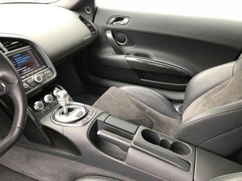 Audi R8 V10 5.2 FSI 525 ch Blanc occasion à BEAUPUY - photo n°7