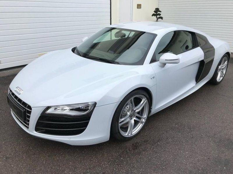 Audi R8 V10 5.2 FSI 525 ch Blanc occasion à BEAUPUY