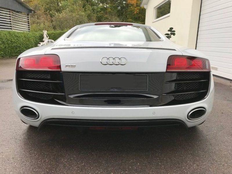 Audi R8 V10 5.2 FSI 525 ch Blanc occasion à BEAUPUY - photo n°6