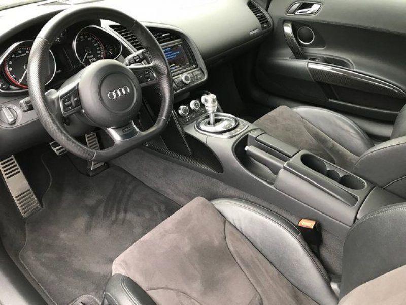 Audi R8 V10 5.2 FSI 525 ch Blanc occasion à BEAUPUY - photo n°2