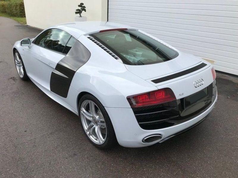 Audi R8 V10 5.2 FSI 525 ch Blanc occasion à BEAUPUY - photo n°5