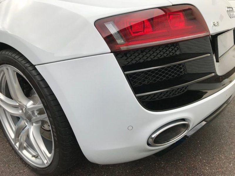 Audi R8 V10 5.2 FSI 525 ch Blanc occasion à BEAUPUY - photo n°9