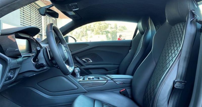Audi R8 V10 PERFORMANCE COUPE 5.2 FSI QUATTRO 620 CV - FULL CARBONE  Gris occasion à MONACO - photo n°6