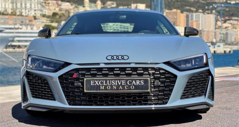 Audi R8 V10 PERFORMANCE COUPE 5.2 FSI QUATTRO 620 CV - FULL CARBONE  Gris occasion à MONACO - photo n°5