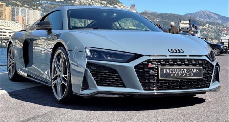 Audi R8 V10 PERFORMANCE COUPE 5.2 FSI QUATTRO 620 CV - FULL CARBONE  Gris occasion à MONACO - photo n°2