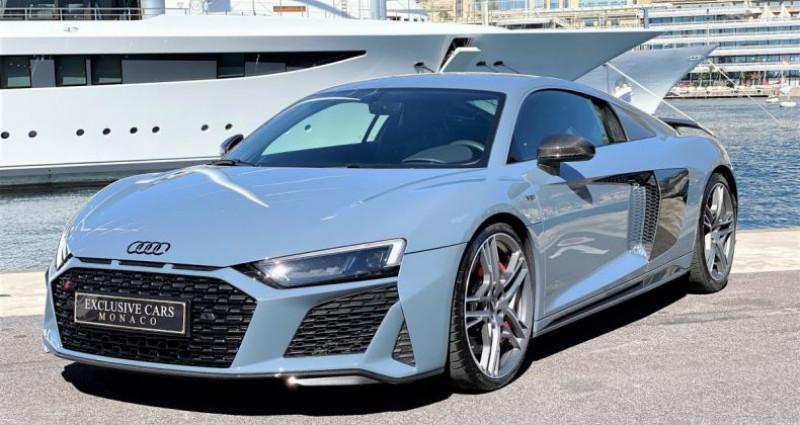 Audi R8 V10 PERFORMANCE COUPE 5.2 FSI QUATTRO 620 CV - FULL CARBONE  Gris occasion à MONACO