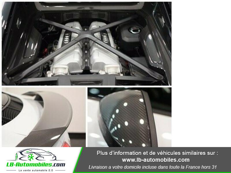 Audi R8 V10 Plus 5.2 FSI 610 S tronic 7 Quattro Blanc occasion à Beaupuy - photo n°19