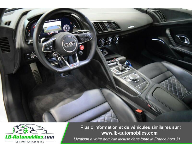 Audi R8 V10 Plus 5.2 FSI 610 S tronic 7 Quattro Blanc occasion à Beaupuy - photo n°2