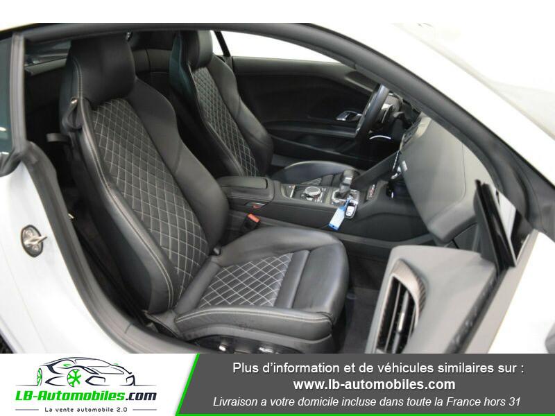 Audi R8 V10 Plus 5.2 FSI 610 S tronic 7 Quattro Blanc occasion à Beaupuy - photo n°5