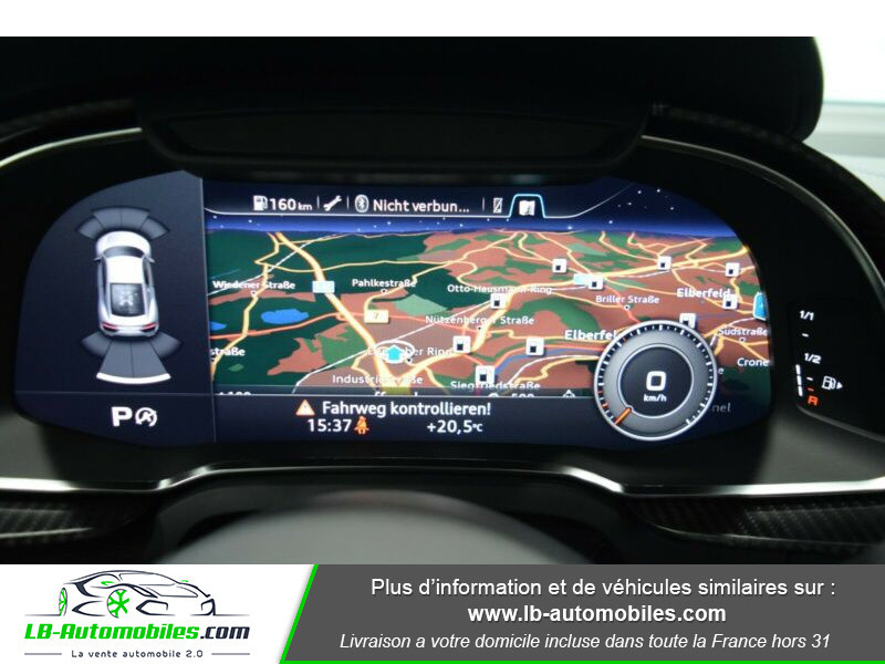 Audi R8 V10 Plus 5.2 FSI 610 S tronic 7 Quattro Blanc occasion à Beaupuy - photo n°8