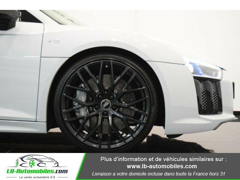 Audi R8 V10 Plus 5.2 FSI 610 S tronic 7 Quattro Blanc occasion à Beaupuy - photo n°16