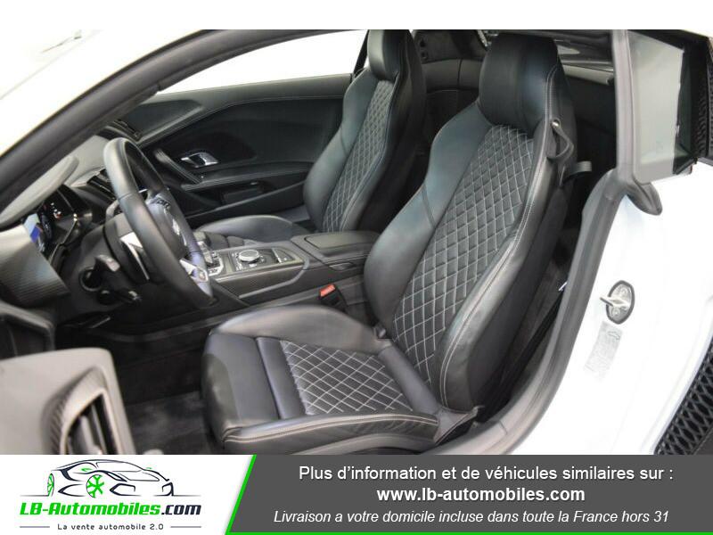 Audi R8 V10 Plus 5.2 FSI 610 S tronic 7 Quattro Blanc occasion à Beaupuy - photo n°6