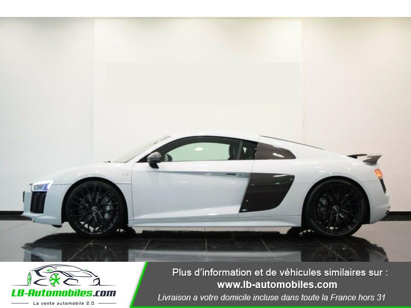 Audi R8 V10 Plus 5.2 FSI 610 S tronic 7 Quattro Blanc occasion à Beaupuy - photo n°13