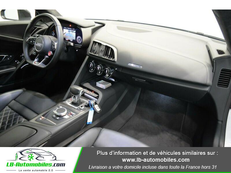 Audi R8 V10 Plus 5.2 FSI 610 S tronic 7 Quattro Blanc occasion à Beaupuy - photo n°4