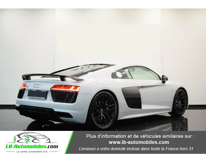 Audi R8 V10 Plus 5.2 FSI 610 S tronic 7 Quattro Blanc occasion à Beaupuy - photo n°3