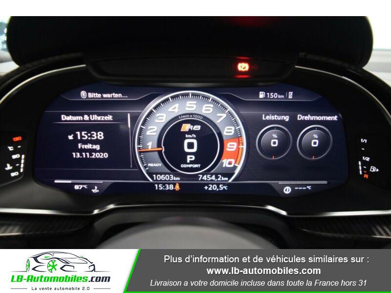 Audi R8 V10 Plus 5.2 FSI 610 S tronic 7 Quattro Blanc occasion à Beaupuy - photo n°7