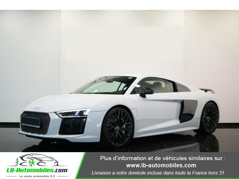 Audi R8 V10 Plus 5.2 FSI 610 S tronic 7 Quattro Blanc occasion à Beaupuy