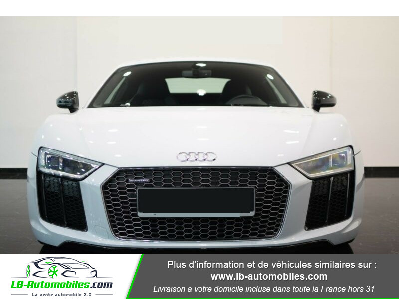 Audi R8 V10 Plus 5.2 FSI 610 S tronic 7 Quattro Blanc occasion à Beaupuy - photo n°10