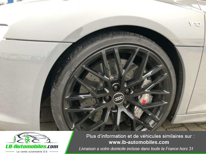 Audi R8 V10 Plus 5.2 FSI 610 S tronic 7 Quattro Gris occasion à Beaupuy - photo n°8