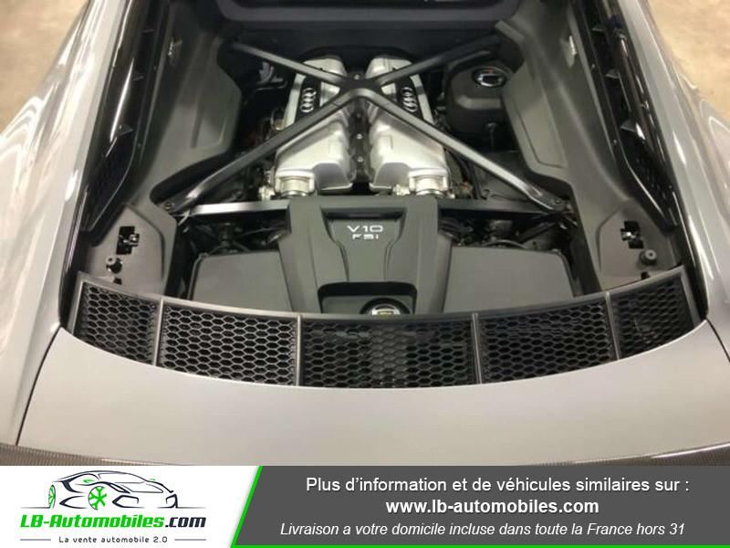 Audi R8 V10 Plus 5.2 FSI 610 S tronic 7 Quattro Gris occasion à Beaupuy - photo n°9