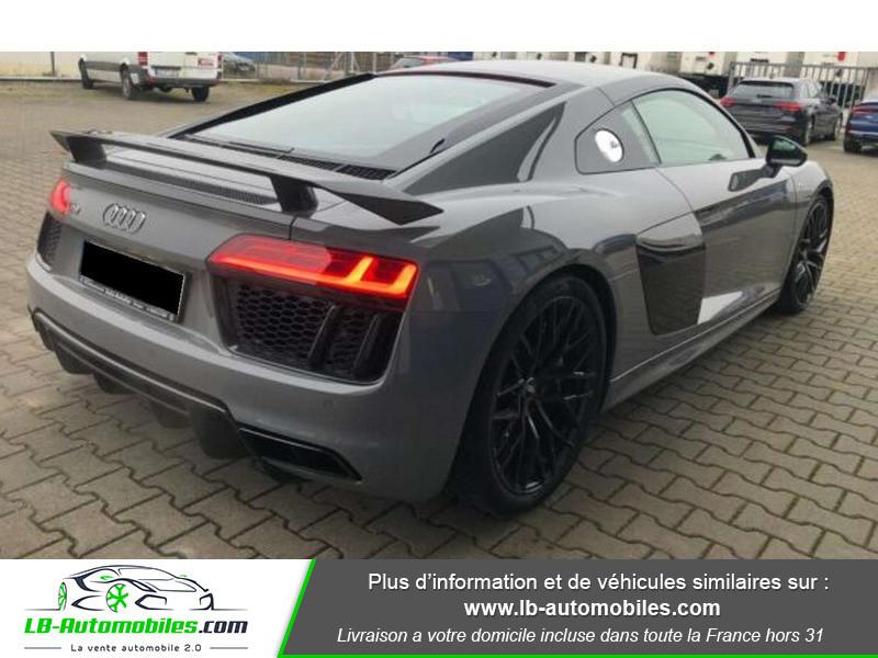Audi R8 V10 Plus 5.2 FSI 610 S tronic 7 Quattro Gris occasion à Beaupuy - photo n°3