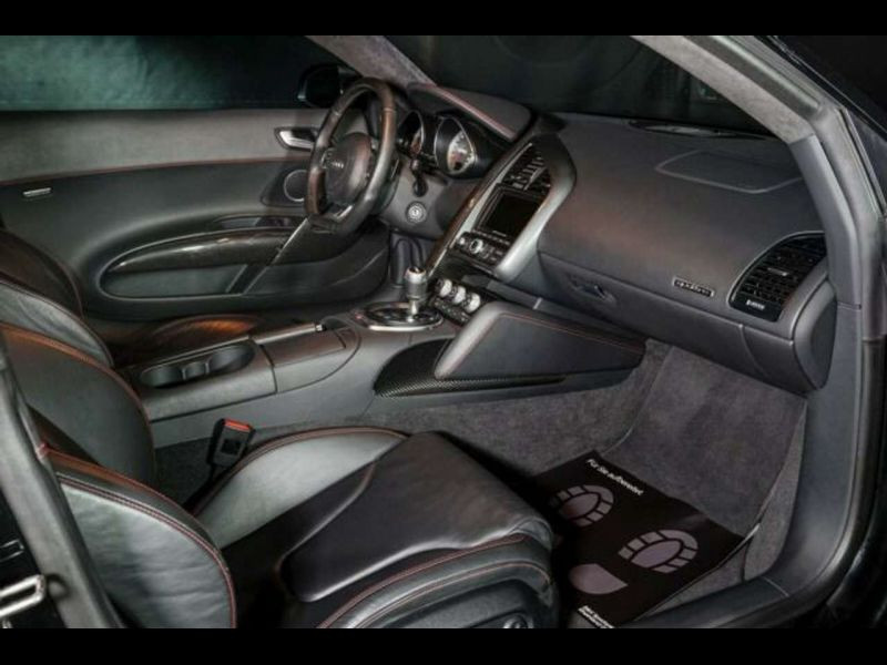 Audi R8 V8 4.2 FSI 420 ch Noir occasion à BEAUPUY - photo n°6