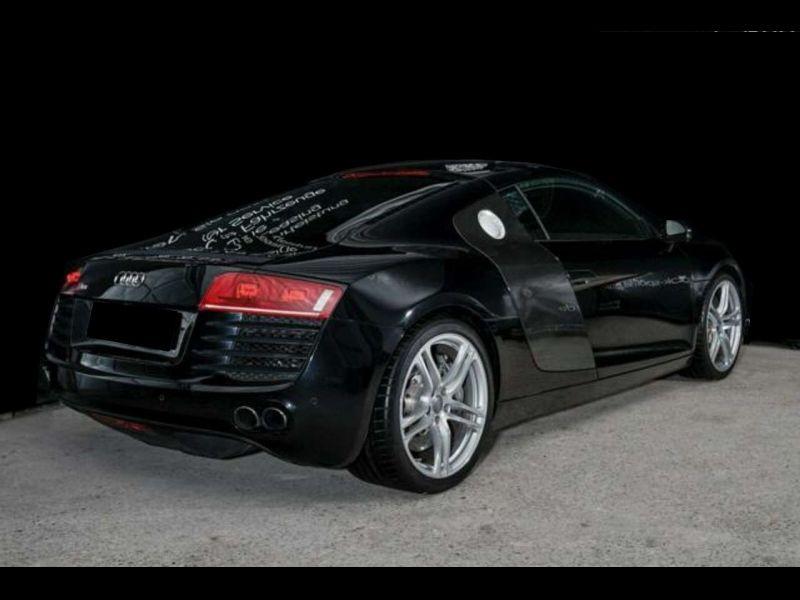 Audi R8 V8 4.2 FSI 420 ch Noir occasion à BEAUPUY - photo n°3
