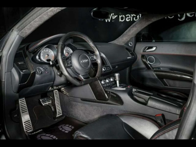 Audi R8 V8 4.2 FSI 420 ch Noir occasion à BEAUPUY - photo n°2