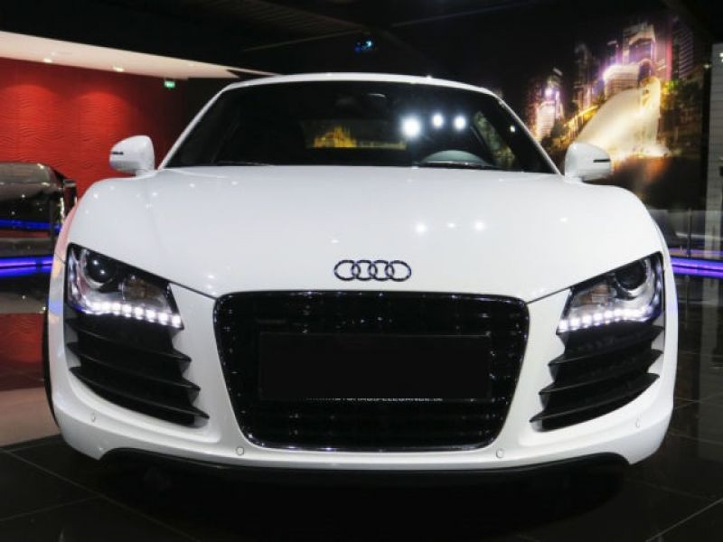 Audi R8 V8 4.2 FSI 420 ch Blanc occasion à BEAUPUY - photo n°6