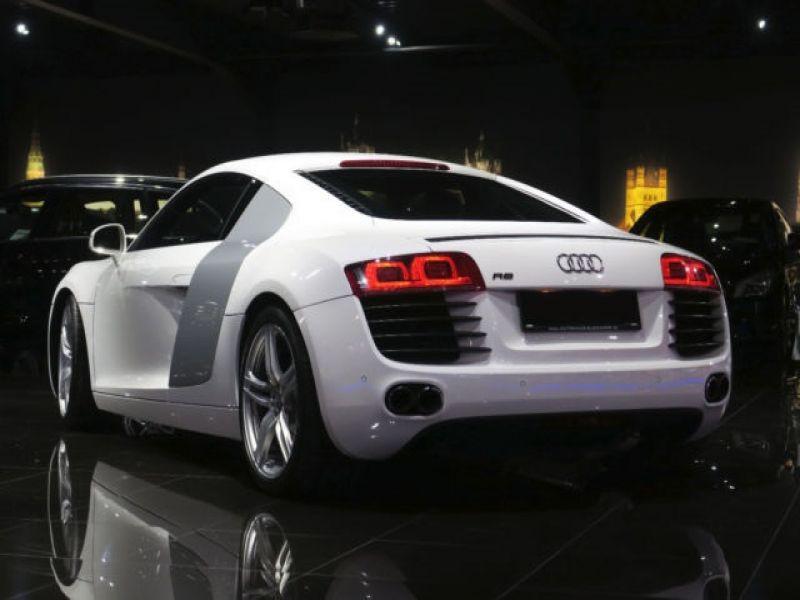 Audi R8 V8 4.2 FSI 420 ch Blanc occasion à BEAUPUY - photo n°2