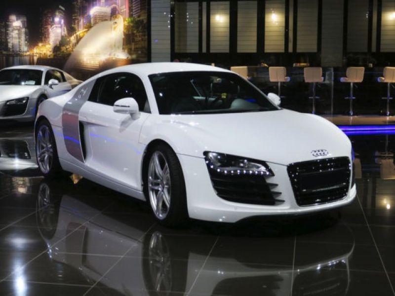 Audi R8 V8 4.2 FSI 420 ch Blanc occasion à BEAUPUY - photo n°7