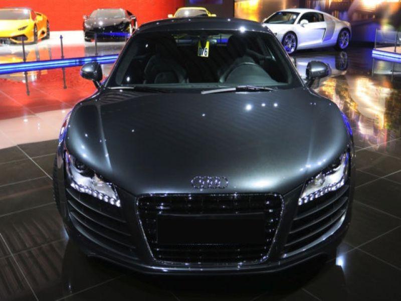 Audi R8 V8 4.2 FSI 420 ch Gris occasion à BEAUPUY - photo n°8