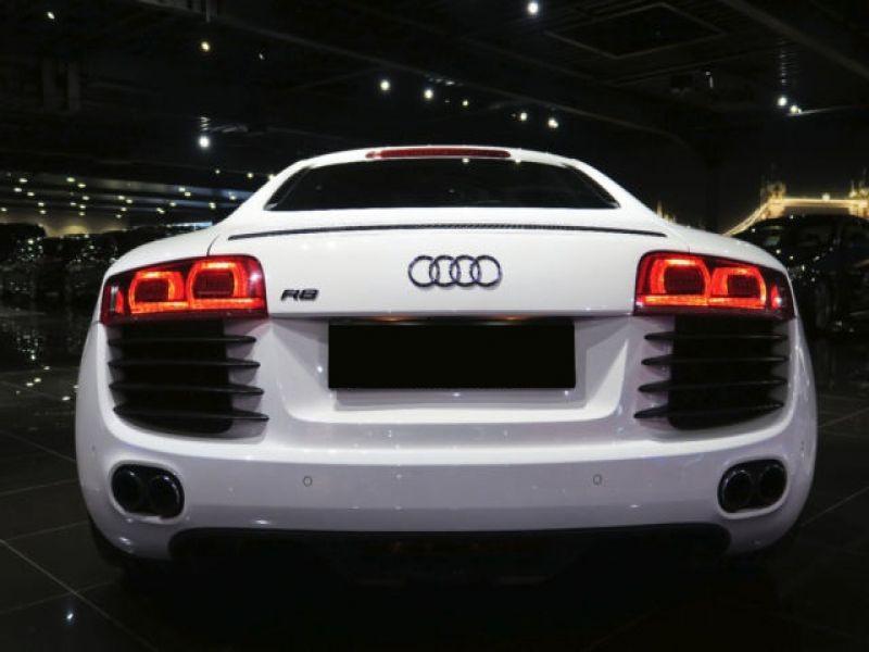 Audi R8 V8 4.2 FSI 420 ch Blanc occasion à BEAUPUY - photo n°8