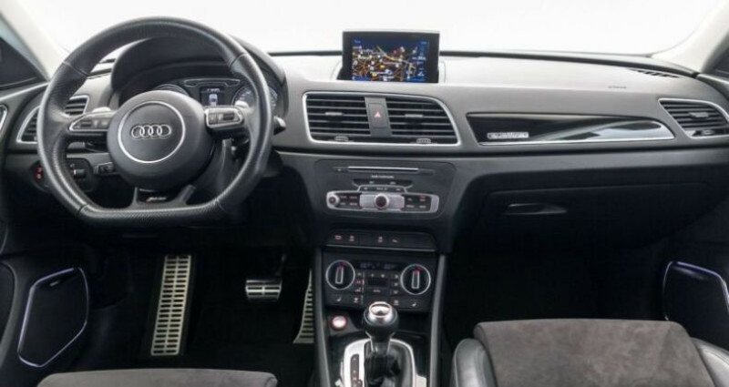Audi RS Q3 # 2.5 TFSI quattro S tronic, 1ere Main Noir occasion à Mudaison - photo n°5